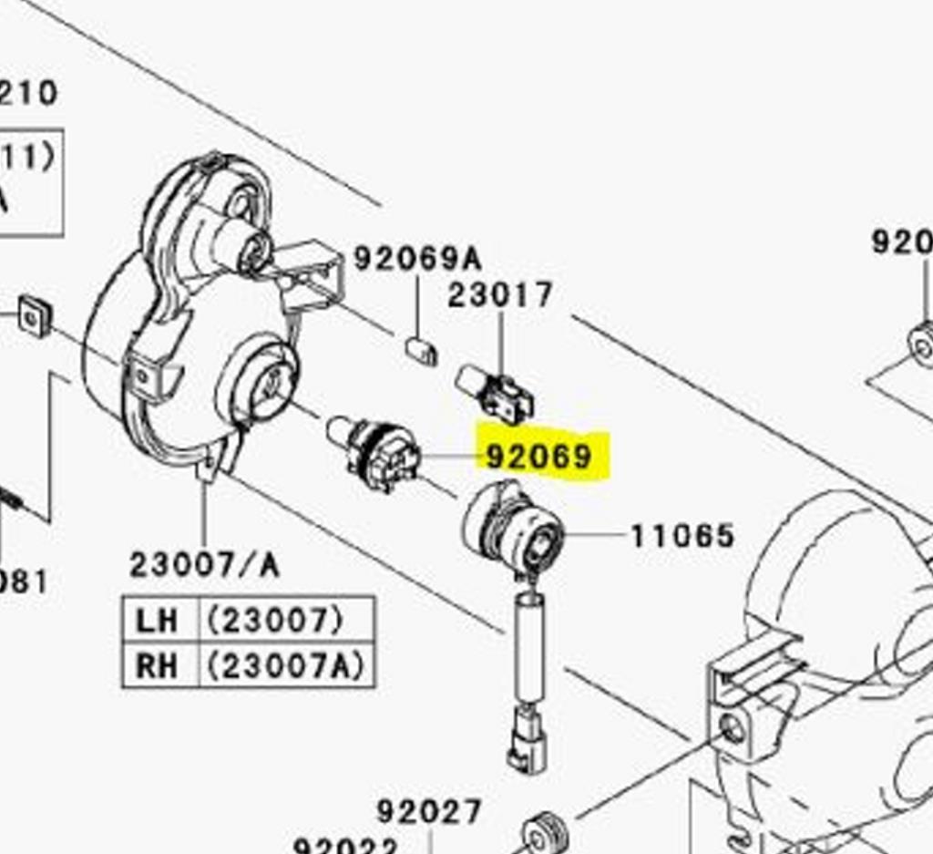 Kawasaki Mule Headlight Bulb Replacement